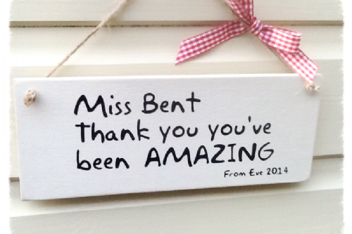 Personalised Teacher Gift - You're Amazing